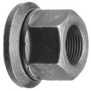 E9020, Flanged Cap Nut - Alcoa Hub Piloted Wheels, R009020, W525 (Hub Piloted Wheel)