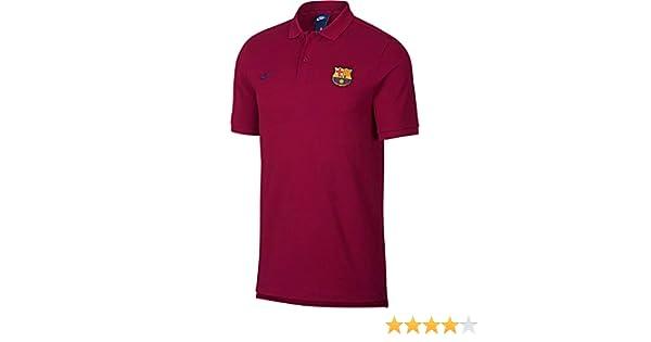 fe75a8823 Amazon.com   NIKE 2018-2019 Barcelona Core Polo Shirt (Red)   Sports    Outdoors