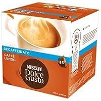 NESCAFÉ Dolce Gusto Nescafé Dolce Gusto Café Lungo Descafeinado (48 Cápsulas/48 Porciones), Lungo Descafeinado, 336 gramos