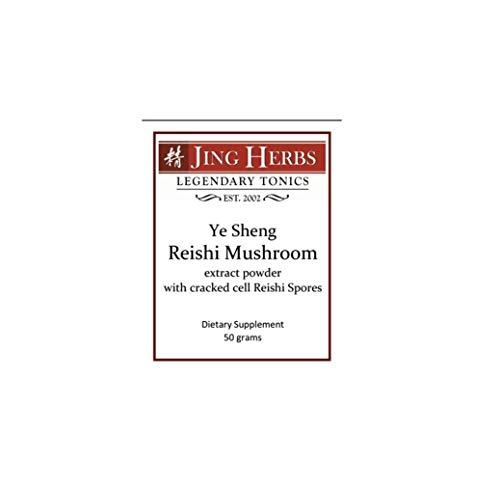 Ye Sheng Reishi Mushroom, 50 grams - Jing Herbs