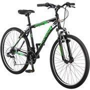 "26"" Schwinn Sidewinder Mens Mountain Bike, Matte Black/Green by schwinn"
