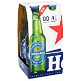 Heineken 0.0 Alcohol Free Beer 4 x 330ml Bottles (2)