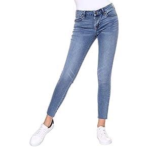 Women's  Classic Ankle Denim Skinny Jeans Plus Size
