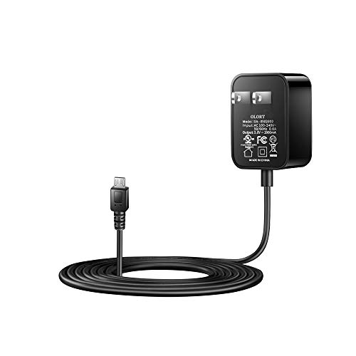 Kindle Fire Fast Charger [UL Listed] Olort AC Adapter 2A Rapid Charger with 6.6Ft Micro-USB Cable for Amazon Kindle Fire…