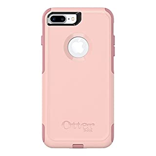 Otterbox Commuter Series Case for  Iphone 8 Plus & Iphone 7 Plus  - Retail Packaging - Ballet Way (Pink Salt/Blush)