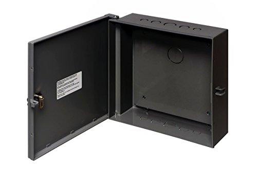 - Arlington Industries EB1212BPBL-1 Electronic Equipment Enclosure Box with Backplate (Pack of 1), 12