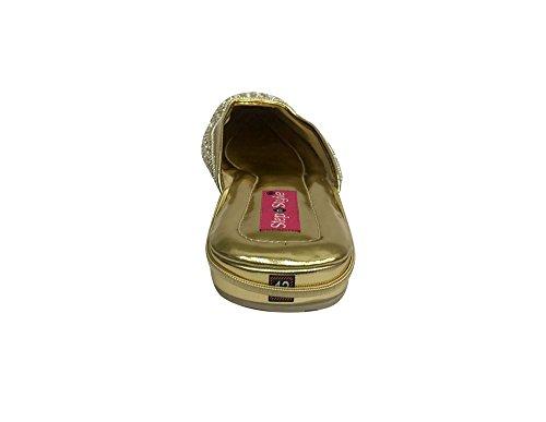 Step n Style - Sandalias de vestir para mujer dorado dorado