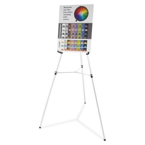 Quartet Flipchart Stand - 66  Height - Aluminum - schwarz by ACCO Brands Corporation