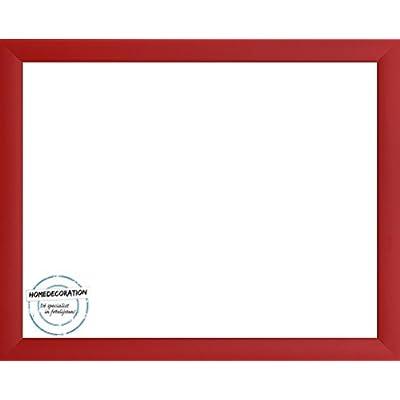 Cornice Colorado 70 X 50 Cm Mdf Con Vetro Plastico 50 X 70 Cm Colore Selezionato Rosso