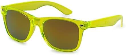 5Zero1 80's Style Classic Retro Men Women Revo Mirror Lens Sport Wayfarer Sunglasses
