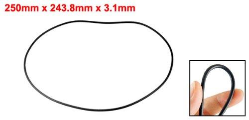 Industrie Gummi O Ring /Ölfilter Dichtungen 250mm x 3.1mm de