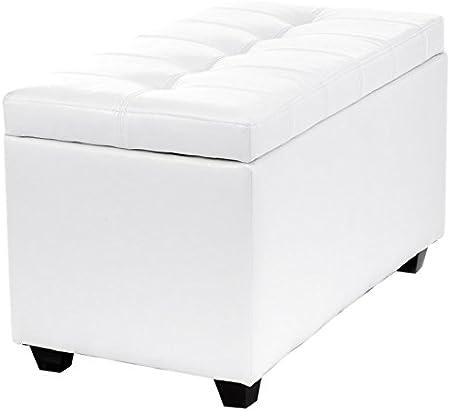 Cassapanca Wink Design Nice 80 x 46 x 45 cm Bianco
