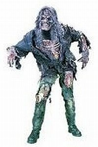 [Complete Zombie Costume Adult] (3d Skeleton Zombie Costumes)