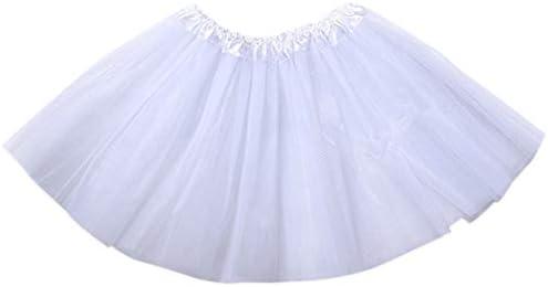 Haptian 12 Colores Mujeres Adultos Tres Capas de Tul Tutu Ballet ...