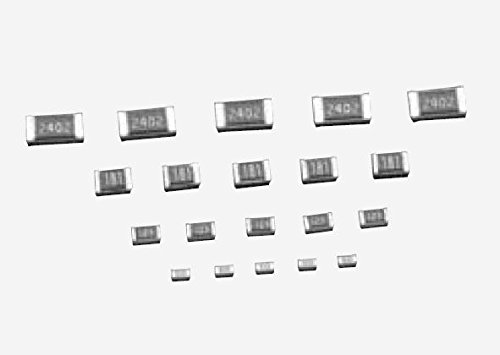 Thin Film Resistors - SMD 1/16W Regular 49.9Kohm 0.5% 25ppm (500 pieces)