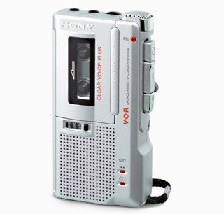 Newly Reconditioned Sony M-650V Handheld Microcassette Voice