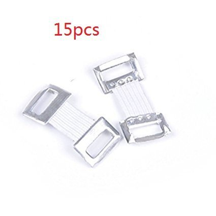 SROVFIDY Replacement Elastic Bandage Wrap Stretch Metal Clips Fixation Clamps Hooks 12pcs