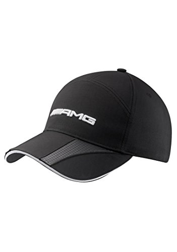 Mercedes Benz Structured Black AMG Hat w/Carbon Fiber Details (Mercedes Amg Benz)