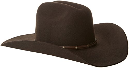 Tony Lama Men's Low Rodeo-3X with Band 52 Wool Blend Cowb...
