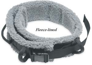 (ALIMED 78582 SafetySure Transfer Belt with Sheepskin Lining Small)