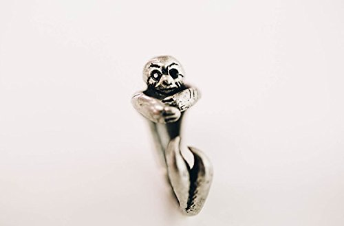 Philos Sloth Animal Ring Gold -