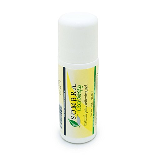 Sombra Cool Therapy Natural Pain Relieving Gel Roll On, 3-Ounce