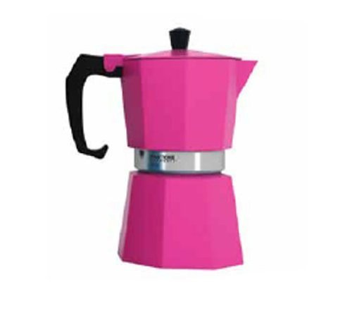 Pantone Coffee Percolator 3 Cup Hot Pink
