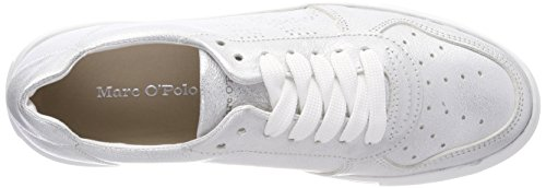 para Zapatillas 165 Marc Sneaker Silver Plateado 80114463502101 O'Polo Mujer RtwgSI