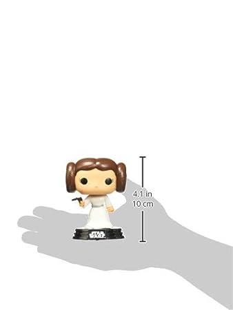 Funko 2319 Bobble Colecci/ón Star Wars POP Figura Princesa Leia