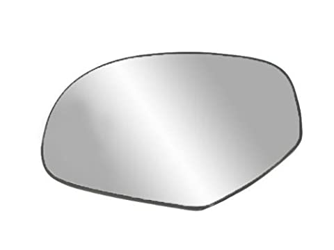 Fit System 33204 Driver Side Heated Replacement Mirror Glass with Backing Plate - Suburban Driver Mirror Glass