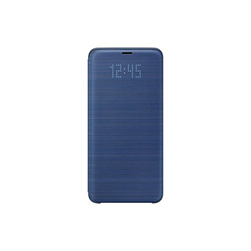 Official OEM Samsung Galaxy S9+ LED View Wallet Cover (Blue)