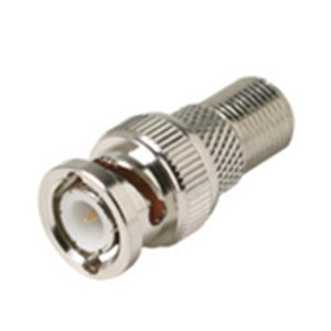 "Steren Electronics, Llc - Steren F To Bnc Adapter - Nickel ""Product Category"