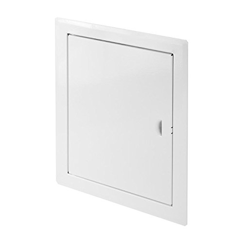 White High Quality Metal Access Panel 500mm x 600mm Wall Inspection Door Loft Hatch Vision Service Point DM103 Armar Trading LTD
