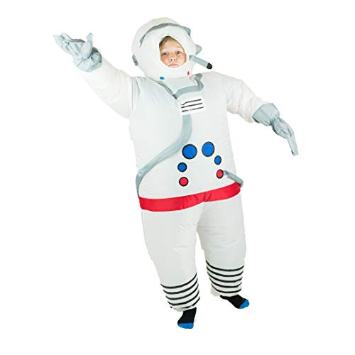 Bodysocks Kids Inflatable Spaceman Fancy Dress Costume ()