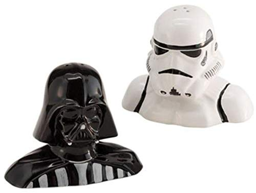 Star Wars Darth Vader and Stormtrooper Salt and Pepper Shakers (Darth Vader & Stormtrooper Salt & Pepper Shakers)