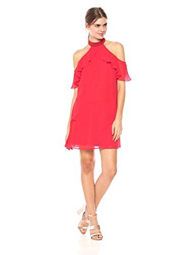 Georgette Ruffle Dress - 4