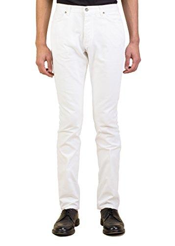 Saint Laurent Yves Men's Slim Fit Tightleg Cotton Denim Jeans Pants - Yves Clothes Saint Laurent