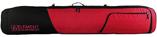 Element Equipment Deluxe Padded Snowboard Bag – Premium High End Travel Bag 157 Red