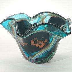 Dale Tiffany Seapointe Favrile Vase (Tiffany Bowls)