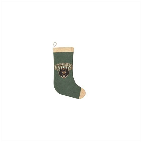 Tapestry Stocking Christmas (Manual Woodworkers and Weavers CUSTOM-TSBAYU Baylor University Bears Tapestry Stocking Woven Cotton 12 X 20 in.)
