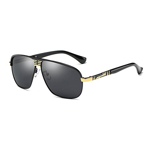 cheval haixin magnésium de Petites soleil lunettes soleil air de homme soleil lunettes conduite d'aluminium de pêche sport plein de style de entreprises Gold de Lunettes lunettes polarisé vqrZtv