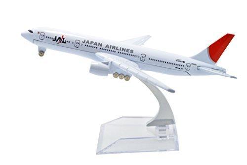 (TANG DYNASTY(TM) 1:400 16cm Boeing B-777 Japan Airline Metal Airplane Model Plane Toy Plane Model)
