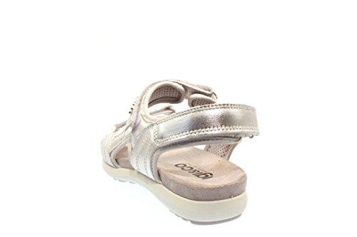 argento Sandalias 5863 Mujeres argento plata qxg1zyFa
