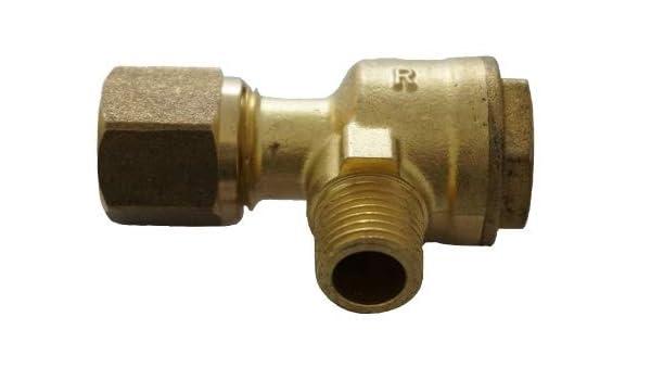Válvula Antirretorno 1/4 – 10 mm Válvula Impresión línea Compresor ...