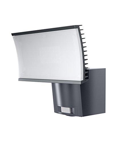 OSRAM Noxlite Floodlight LED Flutlichtstrahler mit Bewegungsmelder und Dämmerungssensor / 23 Watt / warmweiß 3000K, anthrazit