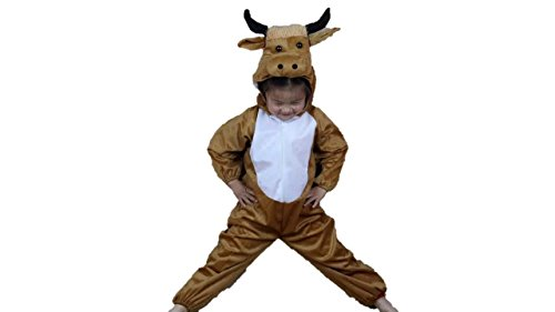 Kids Animal Costumes Boys Girls Pajamas Fancy Dress Outfit Cosplay Children Onesies (M (for Kids 35.5