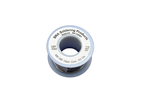 lead-free-no-clean-flux-core-silver-solder-sac305-031-inch-4-ounce-spool