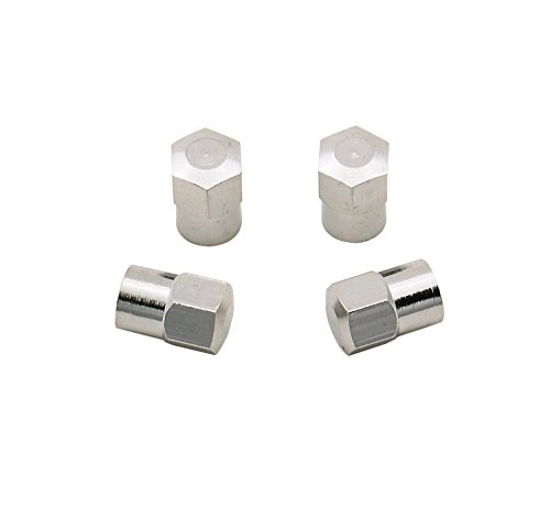 Mr. Gasket 3663 Chrome Hex Valve Stem Cap - coolthings.us