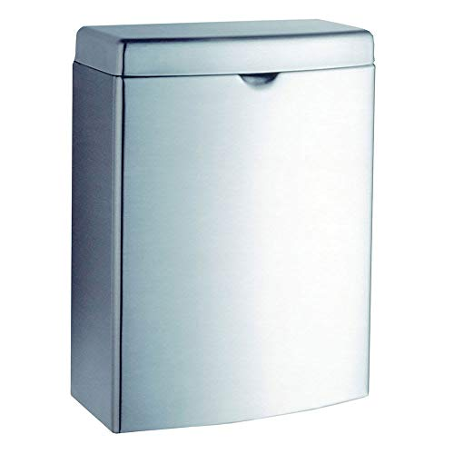 (Bobrick B270 Contura Series Surface Mounted Sanitary Napkin Disposal Unit)