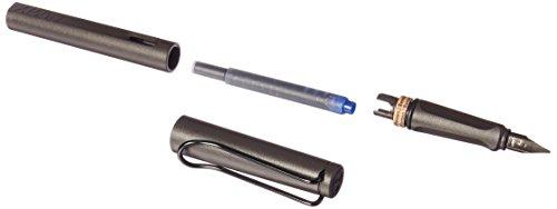 Lamy Safari Fountain Pen - Charcoal - Fine